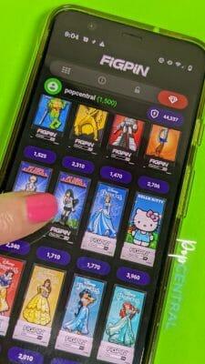 unlock a figpin on the app