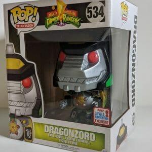 6 inch dragonzord funko pop!