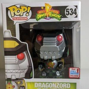 dragonzord 6 inch funko pop!
