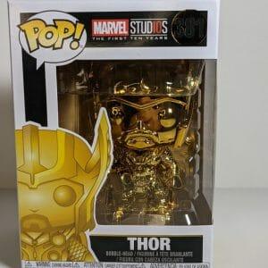 thor gold chrome funko pop!