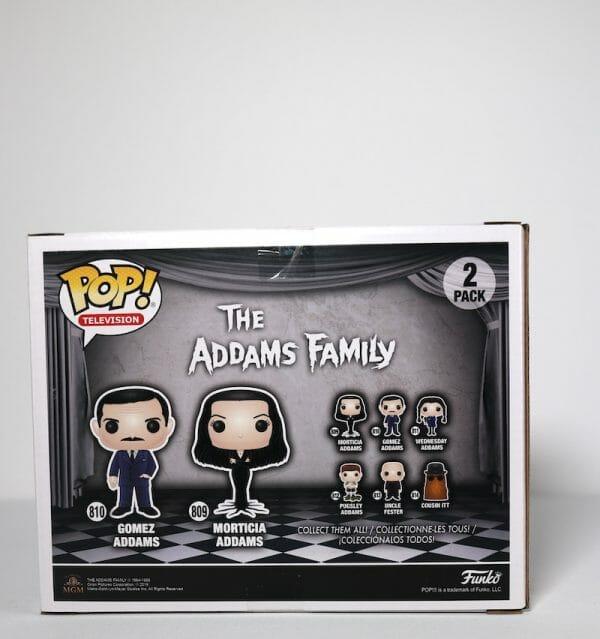 adams family gomez and morticia funko