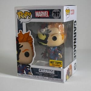 hot topic exclusive carnage funko pop!