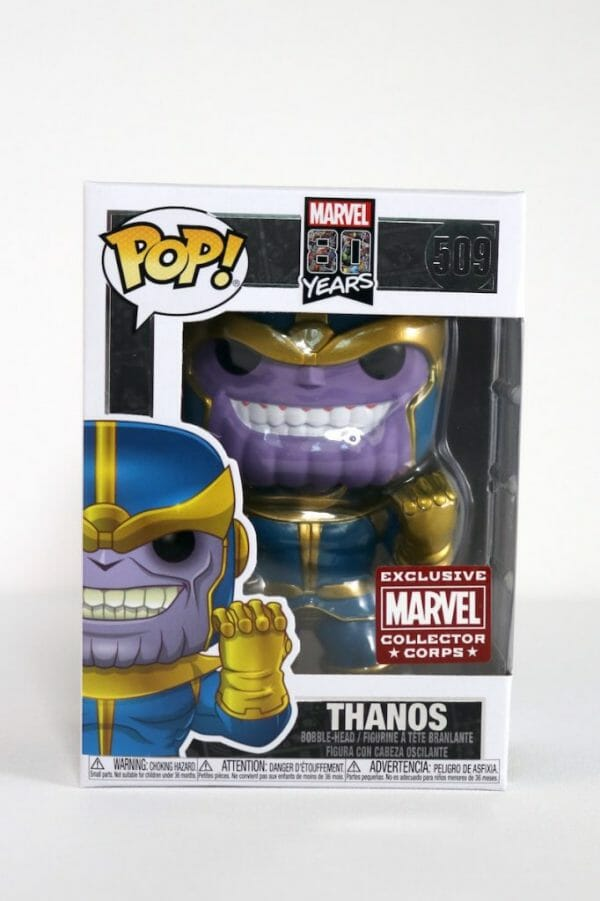 thanos first appearance funko pop!