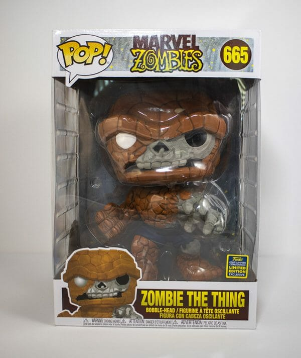 zombie the thing 10 inch funko pop!